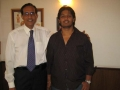 Dr. M G Bhat with his patient, Ganesh